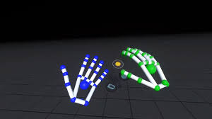 leap motion hand